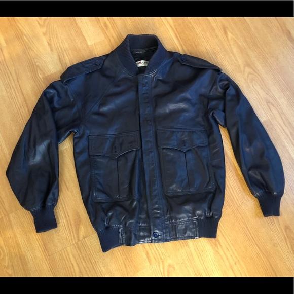 429a21ab0ce Vintage 80's Yves Saint Laurent leather jacket. M_5a9d9ba4daa8f6c799108ece